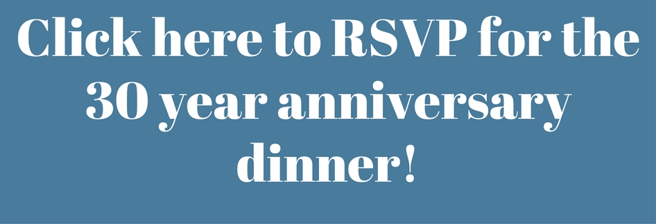 RSVP For The 30 Year Anniversary Dinner